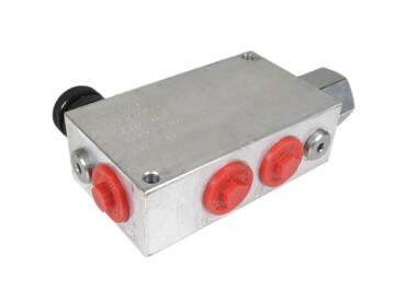 3-way flow control valve 3/4